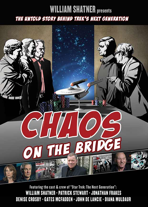 William Shatner Presents Chaos on the Bridge