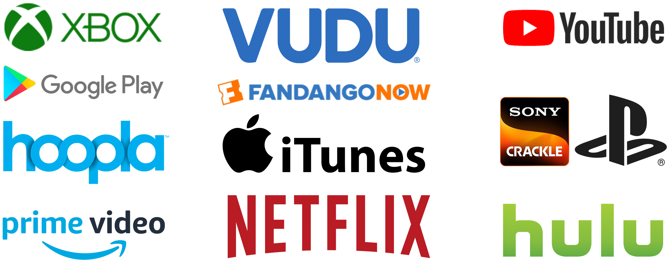 Blackwater Rapids delivers your film to these VOD platforms and more.